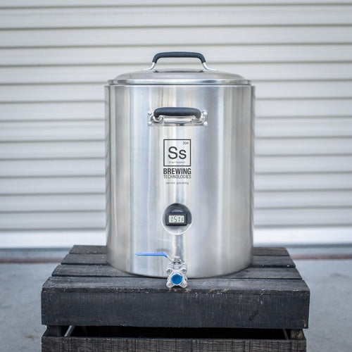 10 Gallon Stainless Steel InfuSsion Mash Tun Homebrewing Vessel