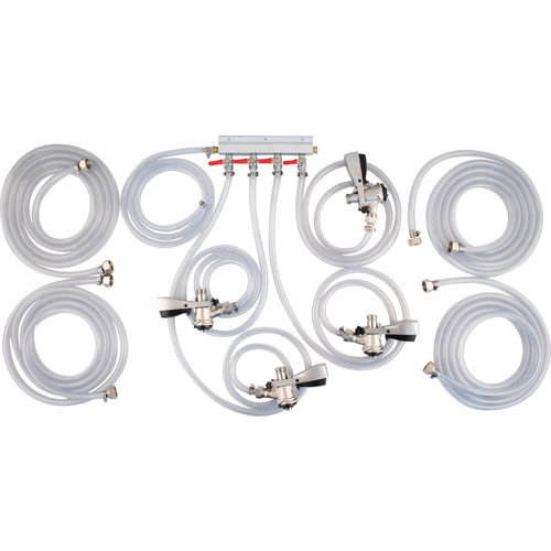 Connection Kit for KOMOS™ Draft Box - 4 Tap (Sanke) (3605907406928)