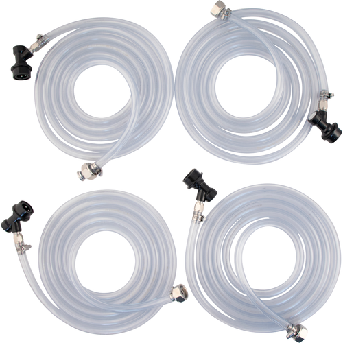 Connection Kit for KOMOS™ Draft Box - 4 Tap (Ball Lock) (3605907439696)
