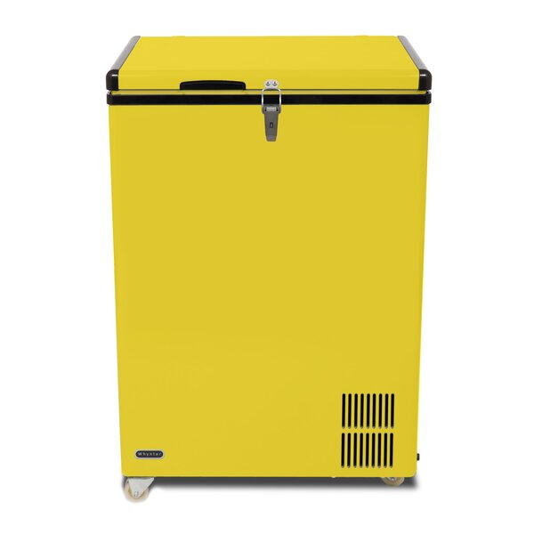 Whynter 95 Quart Portable Fridge / Freezer - Limited Edition Yellow (3610579075152)