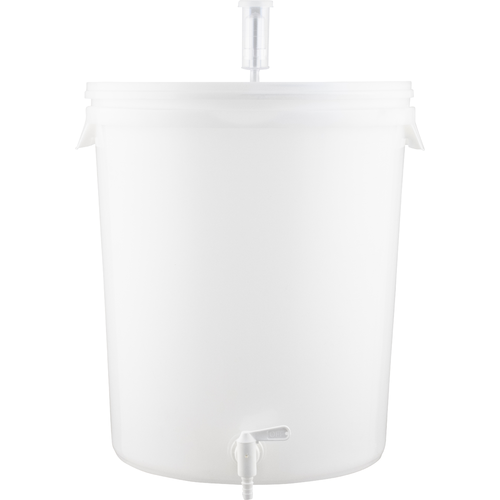 Plastic Bucket Fermenter With Spigot - 7.9 Gallons (30 L)