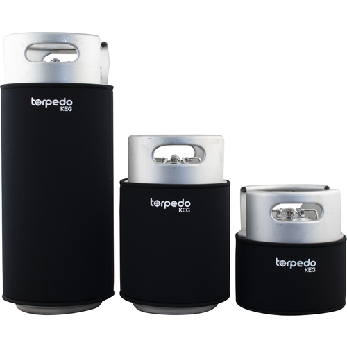 Torpedo Neoprene Insulating Keg Sleeve Jacket