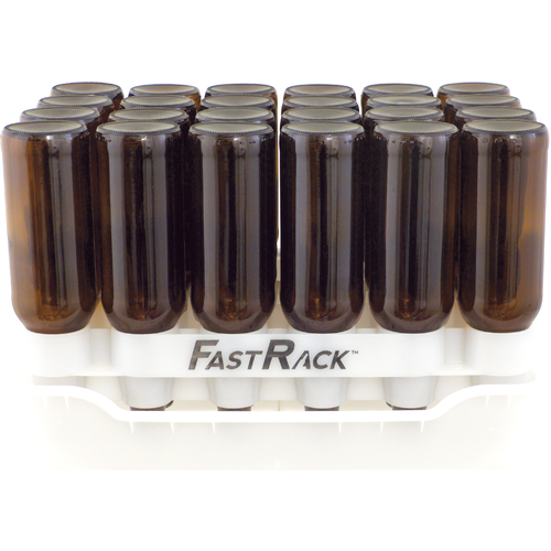 FastRack24 - 12oz Beer Bottle Drying Rack & Storage System (3621212651600)