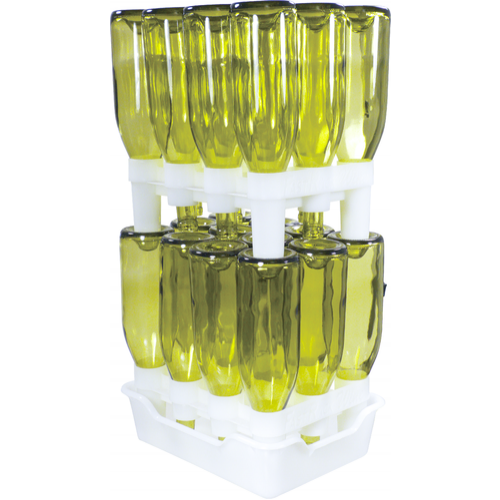 FastRack12 - Bottle Drying Rack & Storage System (3621212782672)