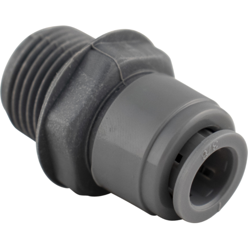 Duotight Push-In Fitting - 9.5 mm (3/8 in.) x 1/2 in. MPT - KL06927