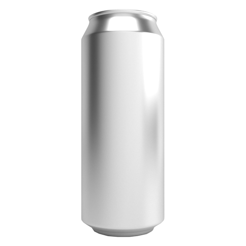 CASE OF 207 - 16.9 oz / 500ml Can Fresh Aluminum Empty Beer Cans - KL05449