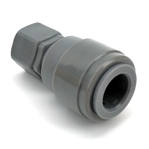Duotight Push-In Fitting - 9.5 mm (3/8 in.) x 1/4 in. Flare - KL06941