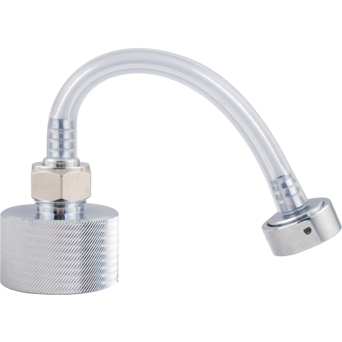 Keg Coupler Adapter for Beer Line Cleaning Kit