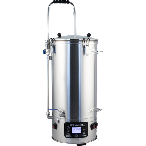 BrewZilla V3.1.1 All Grain Brewing System With Pump - 35L/9.25G (110V)