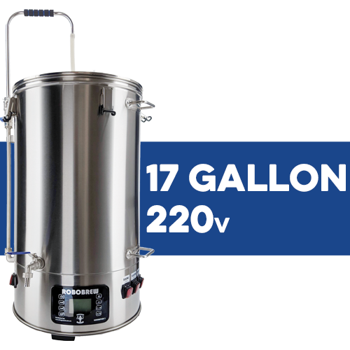 Robobrew / BrewZilla V3.1.1 All Grain Brewing System With Pump - 65L/17.1G (220V)