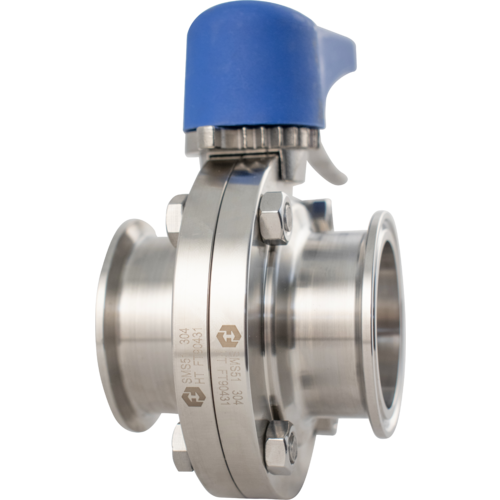 2 inch Tri-Clamp Stainless Butterfly Valve