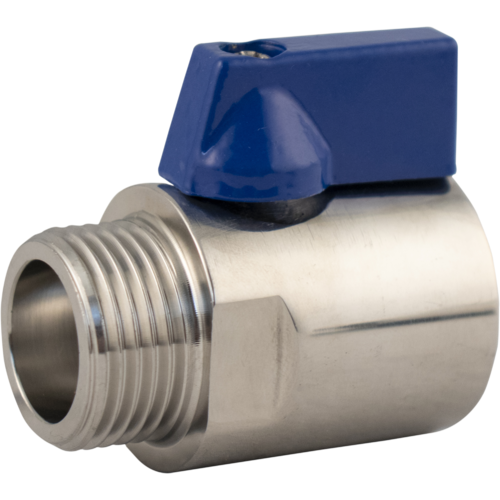 Stainless Shut off Beer Ball Valve for Keg Couplers & Shanks - KL00406
