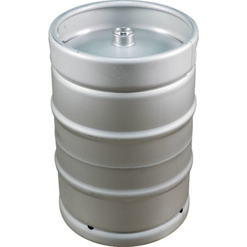 50L / 13.2 Gallon US Sanke Keg - Stainless Steel