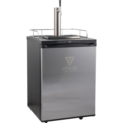 V2 Full Size Energy Efficient Kegerator with Stainless Steel Intertap Faucets