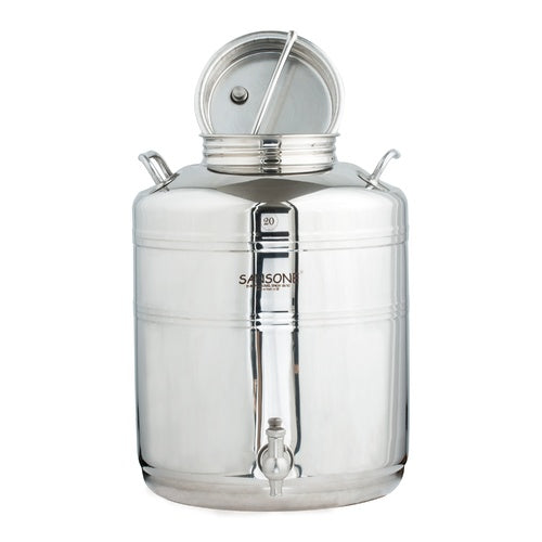 20L / 5.2 Gallon Stainless Fusti Tank