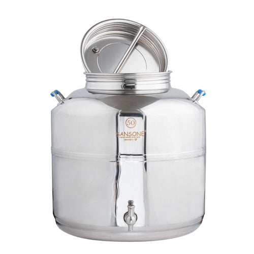 50L / 13.2 Gallon Stainless Fusti Tank