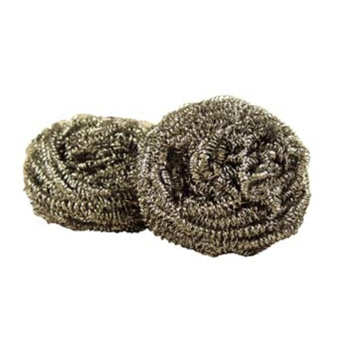 Stainless Steel Scrub Pads - 2 Count