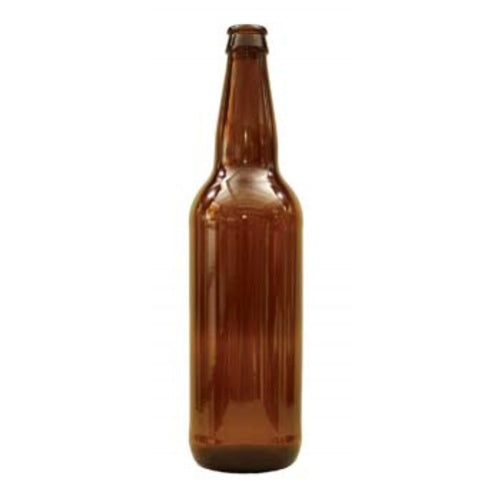 12 PACK 24 oz Amber Longneck Bomber Beer Bottles - Homebrew Supply