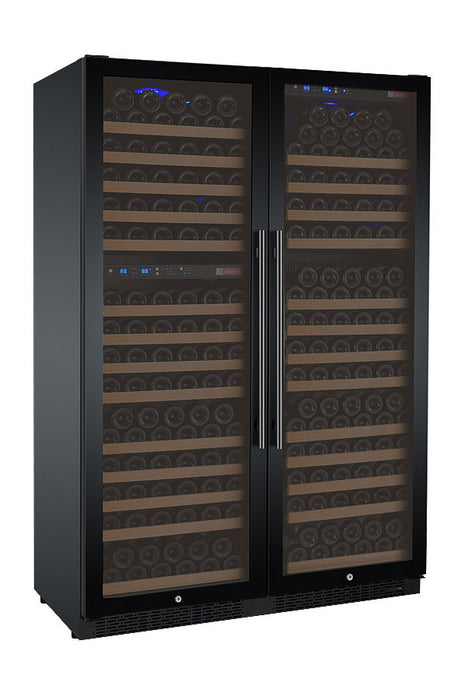 FlexCount Series 349 Bottle Three Zone Side by Side Wine Refrigerator (3595480727632)