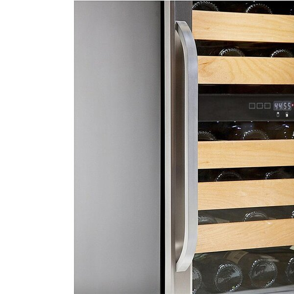 Whynter 46 bottle Dual Temperature Zone Built-In Wine Refrigerator (3610579501136)