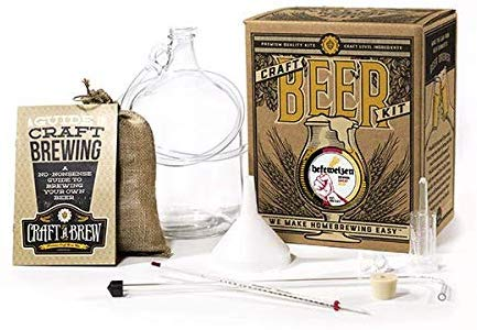 First Time Homebrewer Gift Package Starter Kit - 1 Gal.