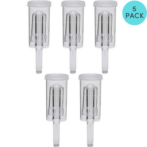 5 PACK Airlock - 3 Piece for Homebrew Fermenting