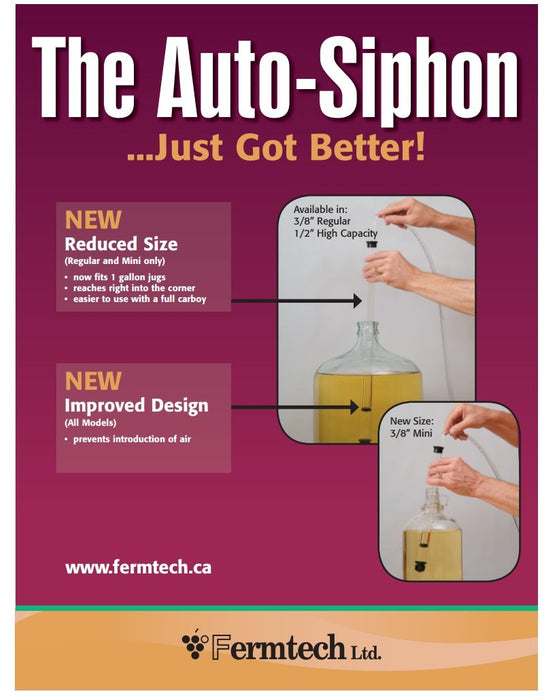 5/16 inch Regular Auto-Siphon