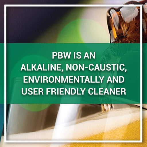50 lb PBW Brew Cleaner Buffered Alkaline Detergent - W0-C1SN-IDPY