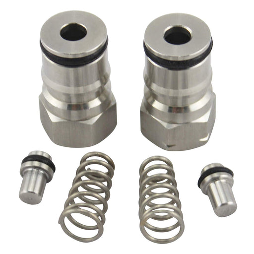 Ball Lock Keg Post Set - Stainless Steel (Both)