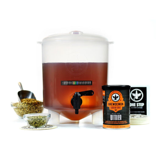 1-Gal Twisted Monk Witbier Beer Making Kit (3599843590224)