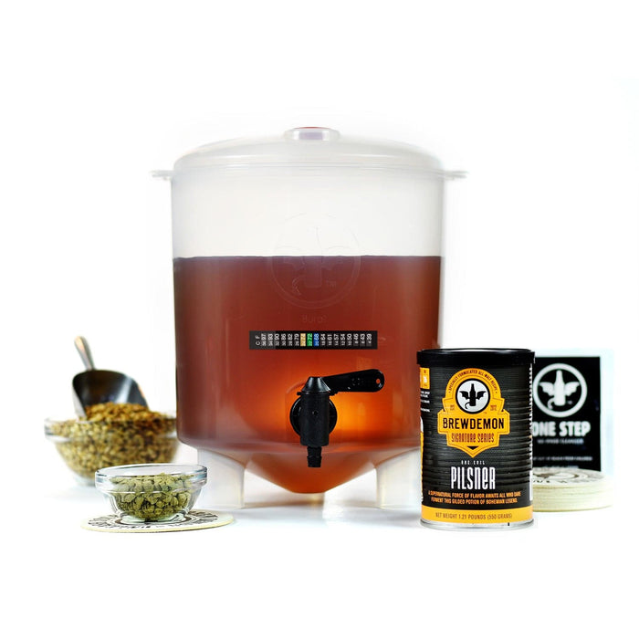 1-Gal One Evil Pilsner Beer Making Kit