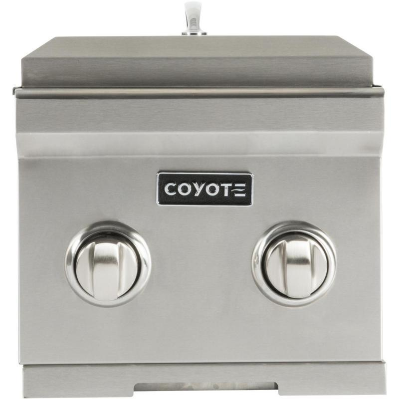 Coyote Double Side Burner; LP Gas (3616252559440)