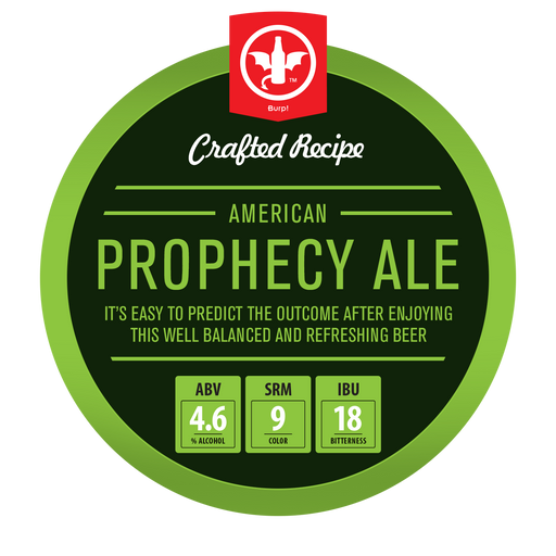2 Gallon American Prophecy Ale Homebrew Recipe Ingredient Kit