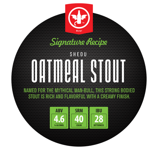1 Gallon Oatmeal Stout Complete Homebrew Recipe Ingredient Kit