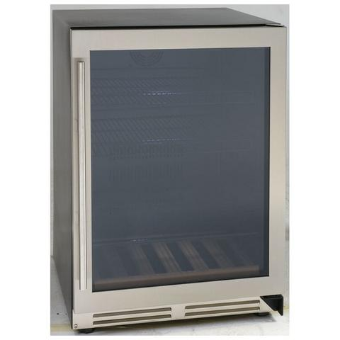 "24"" 5.9 cu. ft. Stainless Steel Beverage Center (3593992372304)"
