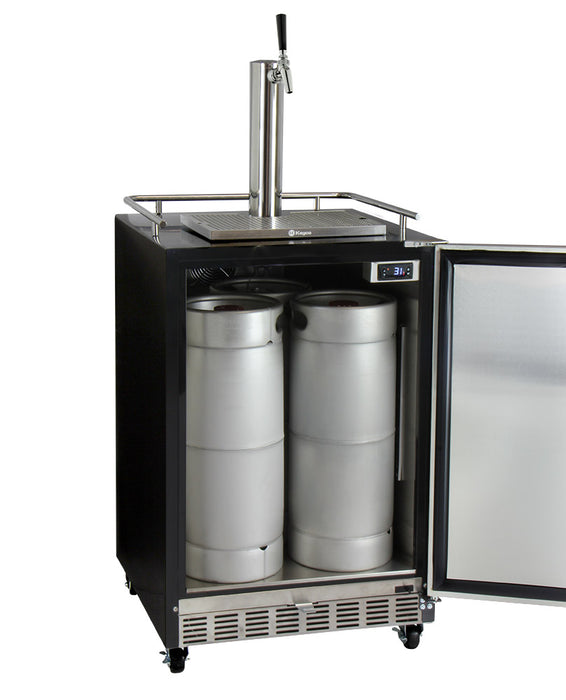 Full Size Digital Commercial Undercounter Kegerator with X-CLUSIVE Premium Direct Draw Kit (3607719673936)
