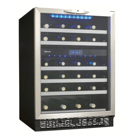24 Inch Wide 51 Bottle Capacity Built-in Wine Cooler (3594014228560)