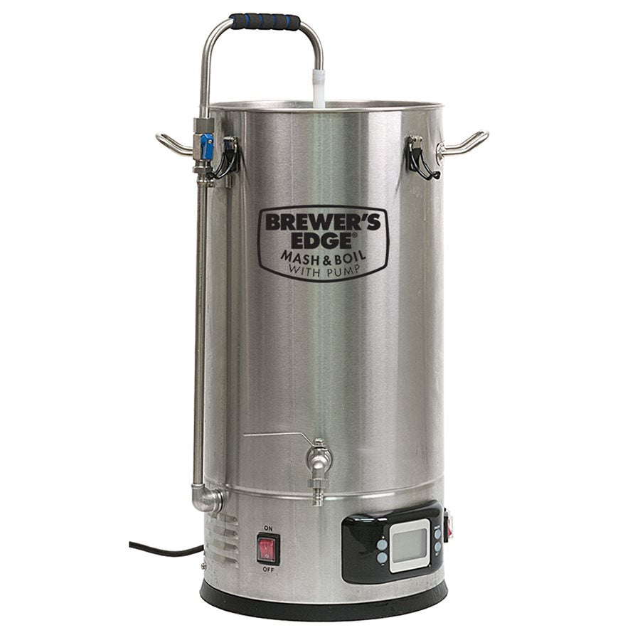 Brewer's Edge Mash and Boil 7.5 Gallon All Grain Brewing System with Pump - 110V