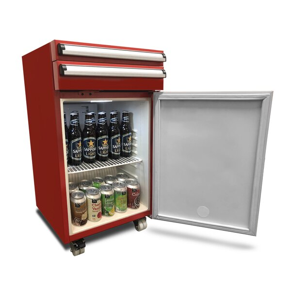 Whynter Portable 1.8 cu.ft. Tool Box Refrigerator with 2 Drawers and Lock (3610579959888)
