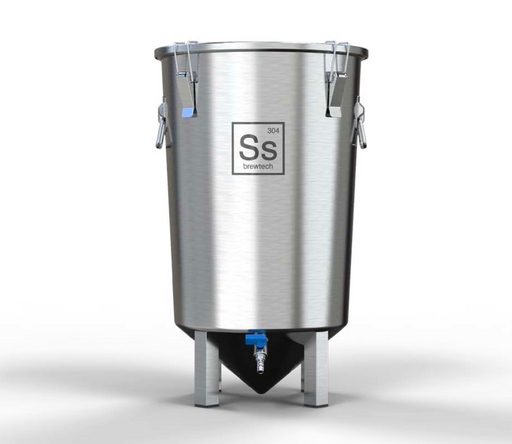 SS Brew Bucket - 7 GAL Stainless Steel Conical Fermenter - BB07-001