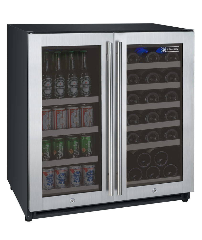 FlexCount Series Dual Zone Wine & Beverage Center