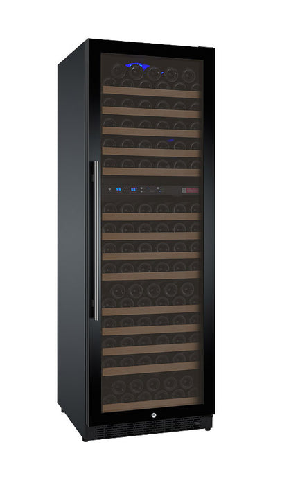 FlexCount Series 172 Bottle Dual-Zone Wine Cellar Refrigerator with Black Door (3595519688784)
