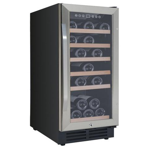 30-Bottle Single Zone Slim Wine Cooler (3593991979088)