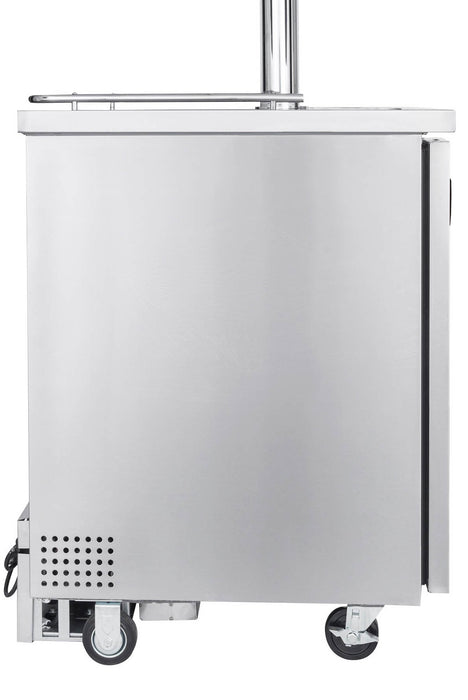Kegco Two Tap Home Brew Commercial Grade Kegerator - Stainless Steel (3607820664912)