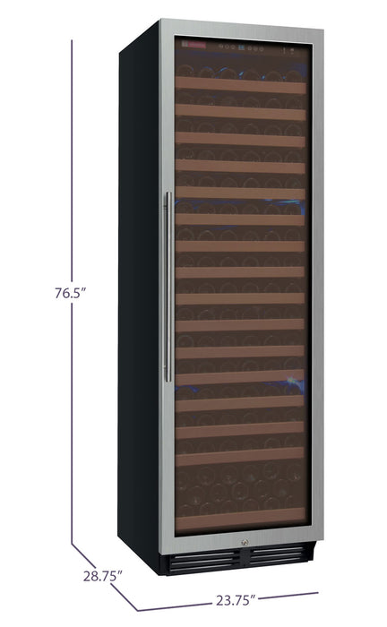 FlexCount Classic Series 174 Bottle Single Zone Wine Refrigerator (3594998120528)