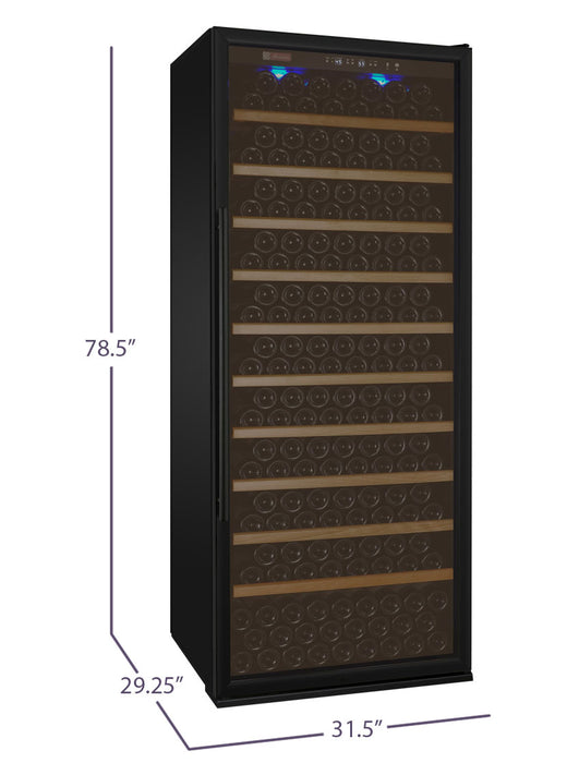 Vite Series 305 Bottle Single-Zone Wine Refrigerator - Black Door with Right Hinge (3595534336080)