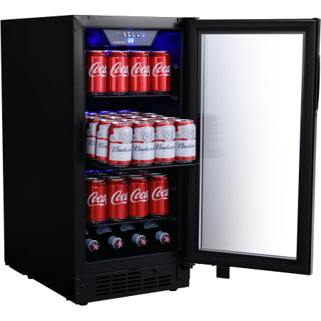 15 Inch Wide 80 Can Built-In Beverage Center with Slim Design (3622674169936)