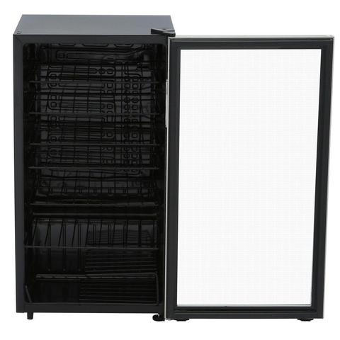36-Bottle Designer Wine Cooler in Stainless Steel