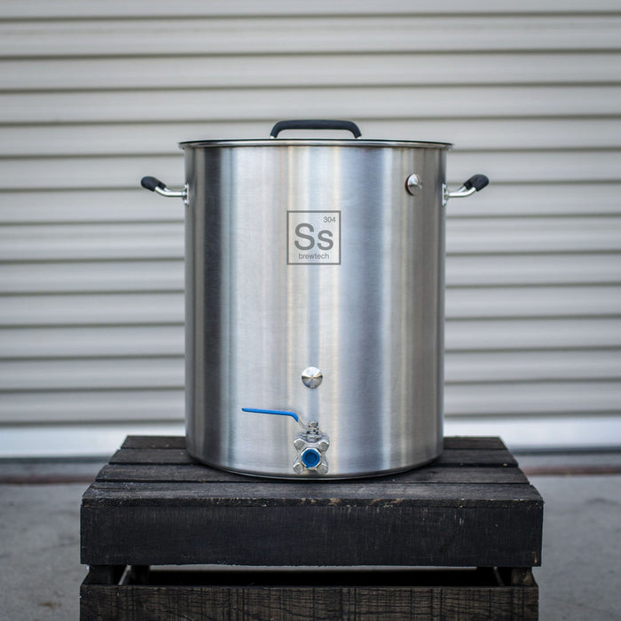 15 Gallon Ss Brew Kettle with Tri-Clad Bottom