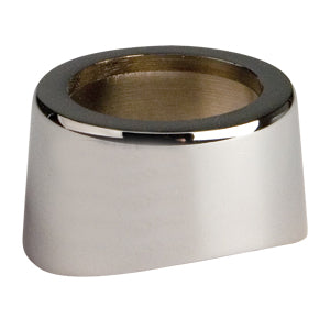 "Chrome outside flange (for 3"")"